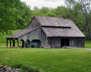 Old Barn in Summer