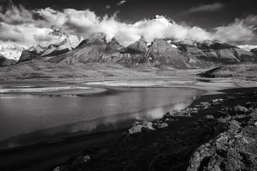 Andes Mountains;  Torres del Paine NP;  Chile