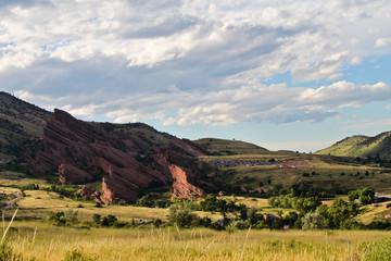 Red rocks formations in Colorado