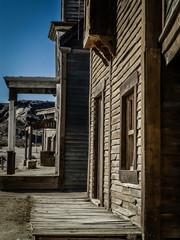 Tabernas. Pueblo western en Almeria, Andalucia, España