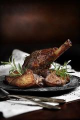 Traditional Roast Leg of Lamb