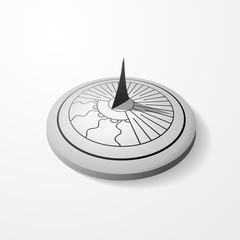 Sundial gray object
