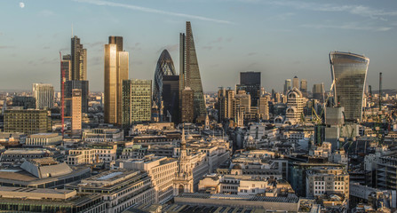 The City of London Financial Centre of the UK