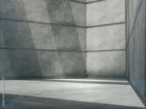 Fantastic Empty Abstract Concrete Room And Lateral Lights Blank Download Free Architecture Designs Scobabritishbridgeorg