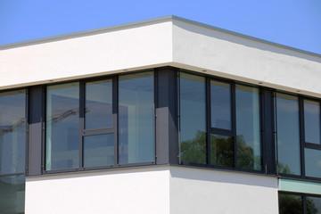 Neues Kunststofffenster, Außenaufnahme
