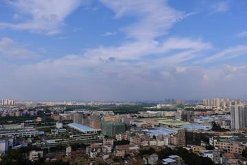 中国東莞市東坑鎮風景