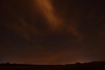 night sky at perseid
