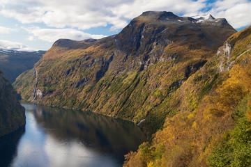 Geiranger Fjord from Ornesvingen