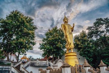 Temple in nan city, Thailand
