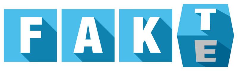 Fakt/Fake blau