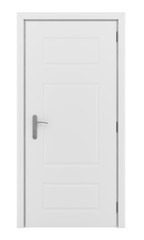 door isolated on white background