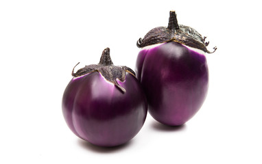 eggplant isolated