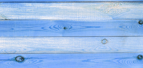 Blue wooden texture. Wooden panels. Close up