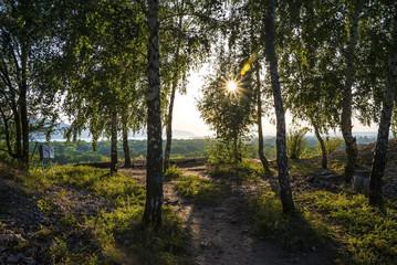 Tsarev kurgan. Attraction of the Samara region. On a Sunny summer day