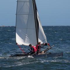 Catamaran de sport