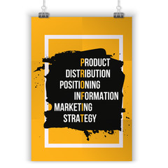 Inspiring motivation quote about Profit. Vector typography poster and t-shirt design, office decor. Distressed background