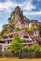 Tüchersfeld im Püttlachtal - Fränkische Schweiz