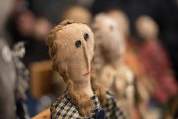Burlap Dolls