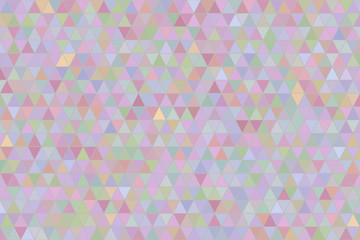 Abstract triangle strip geometric pattern, colorful & artistic for graphic design. Concept, digital, background & decoration.