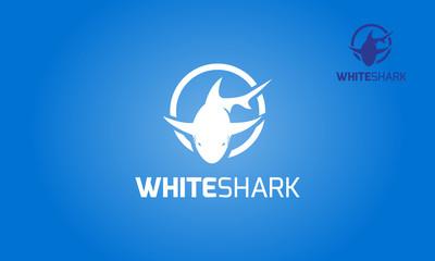 Modern professional shark Vector logo illustration