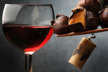 Caldarroste Roast chestnuts