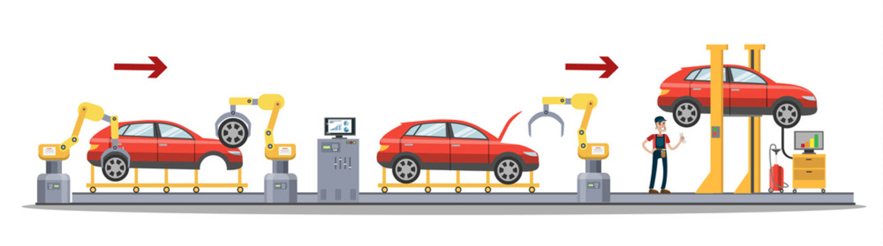 Car production process