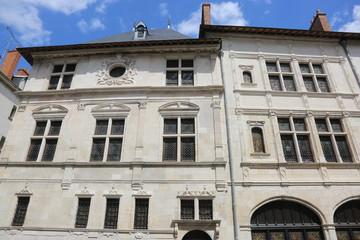 Le bâtiment Renaissance de l'Hôtel Cabu à Orléans abritant désormais le musée historique et archéologique