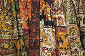 India beautiful textile.