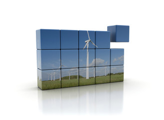 Building blocks for a better future - wind energy