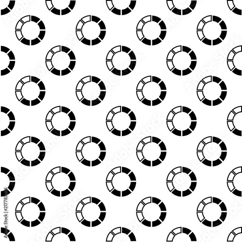 Graphics And Diagram Icon In Pattern Style One Of Chart Collection