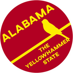alabama: the yellowhammer state | digital badge