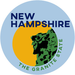 new hampshire: the granite state | digital badge