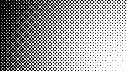 Vector halftone design. Abstract halftone. Abstract dots. Vector illustration.