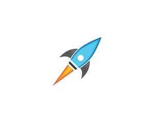 Rocket symbol illustration