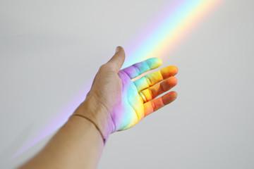 Rainbow in Hand