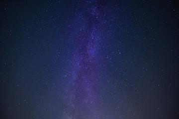 Milky Way Galactic Center in Night Sky