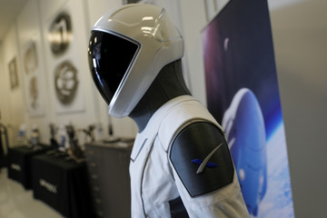 SpaceX shows new spacesuit to be worn by NASA astronauts who will the companies Crew Dragon spacecraft
