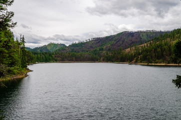 Browns Lake in the Colville National Forest