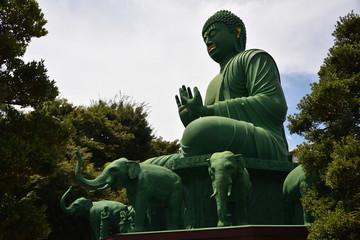 日本の名古屋の大仏