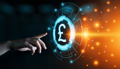 Pound Currency Business Banking Finance Technology Concept