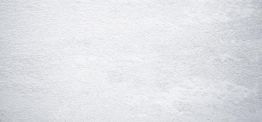 Fotobehang - Blank gray grunge cement wall texture background, banner, interior design background, banner