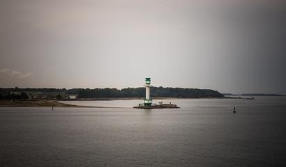 Leuchtturm Friedrichsort in der Kieler Förde