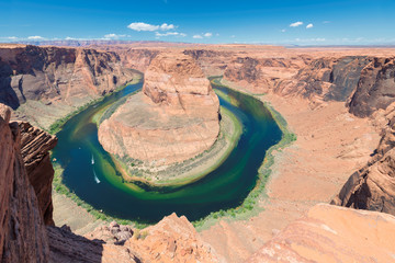 Arizona Landscape - Horseshoe Bend meander of Colorado River in Glen Canyon