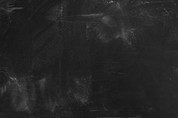Old blank dirty blackboard .Empty Chalkboard Background with writing space