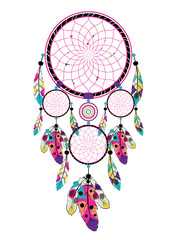 Stylized dream catcher
