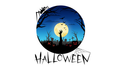 Halloween party. Invitations