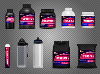 Fitness Sport Bottles Packages