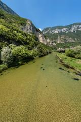 Valsugana (Sugana Valley) and the River Brenta - Trentino Alto Adige, Italy