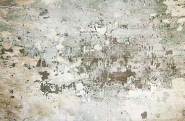 Fotobehang Oude vuile getextureerde muur Texture of old gray concrete wall for background