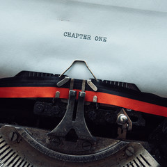 Typewriter chapter one concept